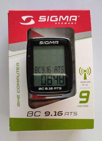 Ciclocomputador Sigma BC 9.16 ATS Sem Fio