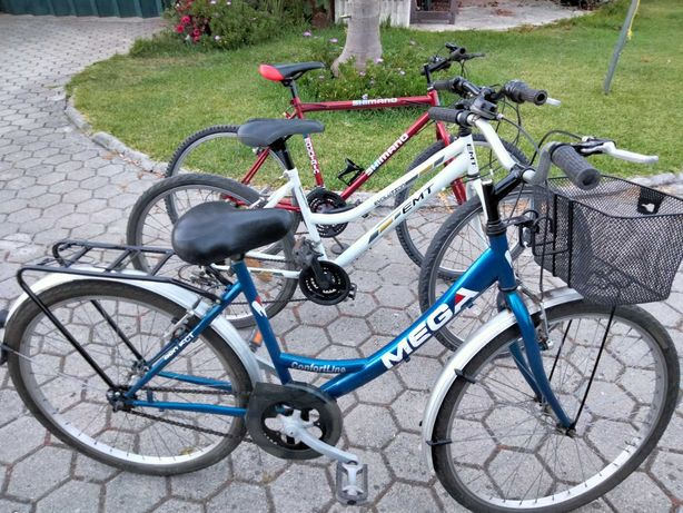 Bicicletas em bom estado