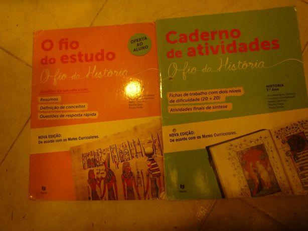 Fio da História 7º Caderno de atividades/caderno auxiliar de estudo