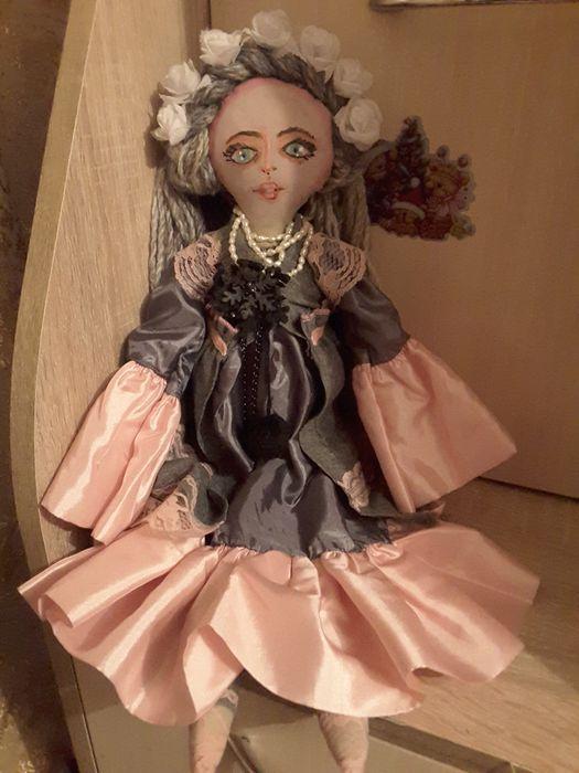 Текстильная кукла ручной работы Киев - изображение 1