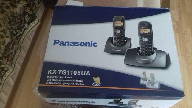 Цифровой беспроводной телефон Panasonic KX-TG 1108