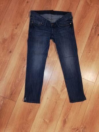 Spodnie ciążowe H&M r 36 długość 3/4