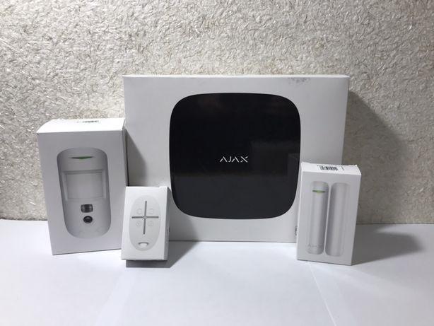 Ajax, StarterKit, HubKit, Hub, аякс, бездротова сигналізація, безпека