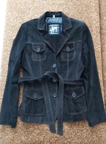 Новая замшевая куртка 38р