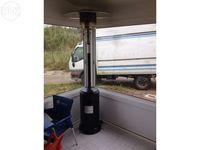 Aquecedor de pátio ao ar livre 5kw - 12kw, a gás propano