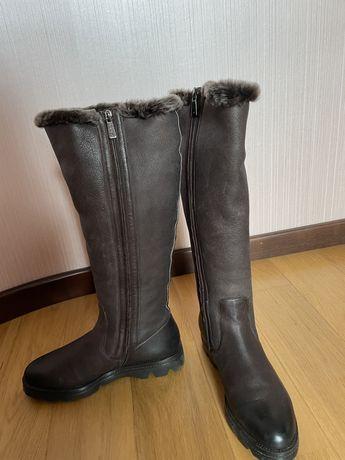Зимние сапоги Santoni 40 размер