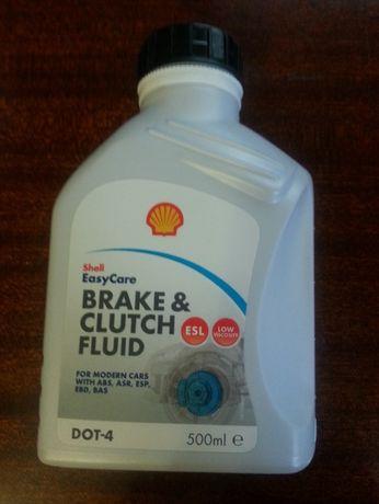 Тормозная жидкость SHELL Brake & Clutch fluid DOT4