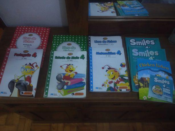 Manuais Livros escolares do 4 e 5 ano
