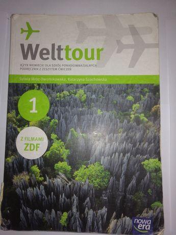 Welttour książka do języka niemieckiego
