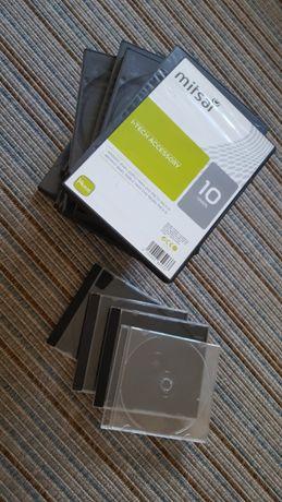 15 Caixas DVD duplas e 4 CD novas