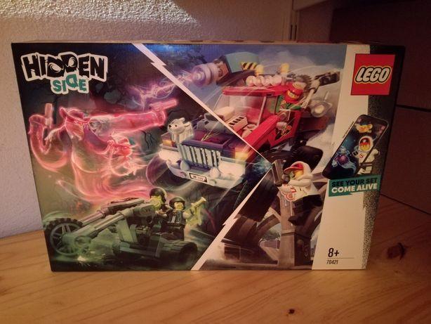 Lego Hidden Side 70421 Carro de acrobacias