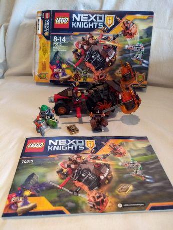 LEGO Nexo Knights 70313 komplet instrukcja pudełko