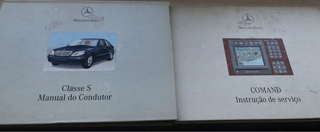 Manual Mercedes Classe S  + manual de Instrução de Servico