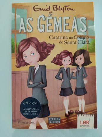 "Livro ""As Gémeas - Catarina no Colégio de Santa Clara (Volume 6)"""