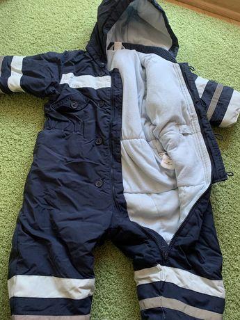Зимний комбинезон H&M 9-12 месяцев  80 см