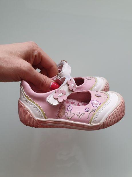 Coolclub śliczne buty dziewczęce balerinki półbuty rozm. 22!