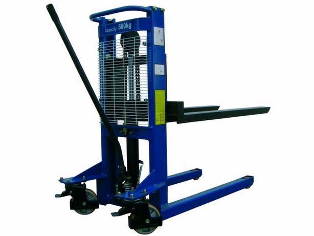 Empilhador Manual / Stacker /Monta-cargas / Porta-paletes elevatório