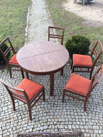 Stary Stół i krzesła