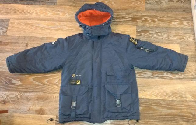 Зимняя куртка 8 лет рост 128 см