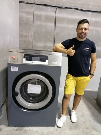 Máquina de lavar roupa industrial 20kg Self-service lares hospitais