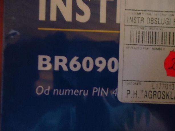 Instrukcja obsługi NH 844,93412 BR6090