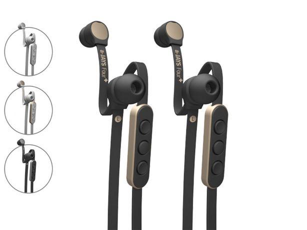 Słuchawki a-JAYS Four+ iOS iPhone iPad iPod NOWE * Rewelacyjny dźwięk