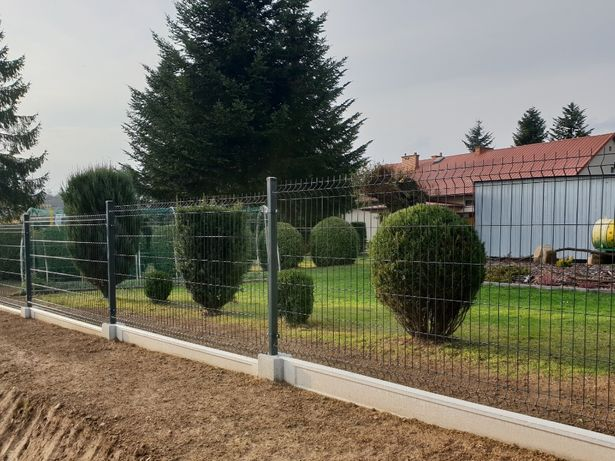 panel h123 kompletne ogrodzenie panelowe 48zl metr
