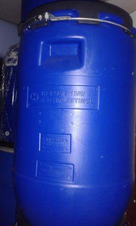 Bidons plastico 60 litros com simbolo alimentar
