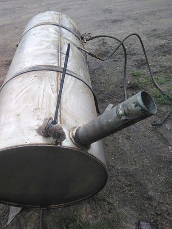 zbiornik paliwa 200 L nierdzewny kwasoodporny kwasówka