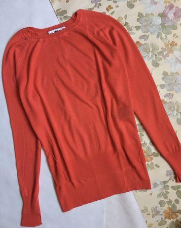 ZARA sweterek homarowy mgiełka XS/S 36 soft oversize