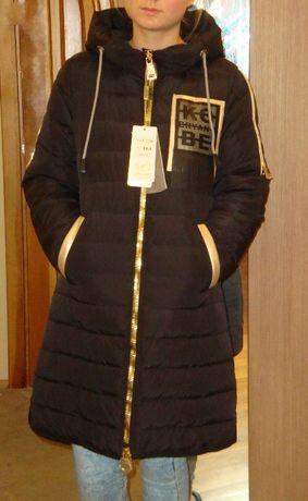 Пуховик Парка Levin Force пальто зимнее рост 164 Новое