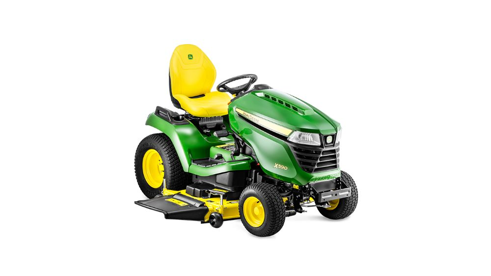 Traktor ogrodowy John Deere X590 - Baras