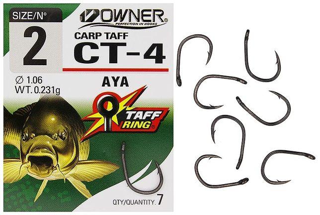 Haczyki Owner CT4 Carp Taff rozm 6