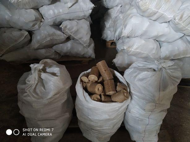 Топливные брикеты НЕСТРО, мешки по 30кг