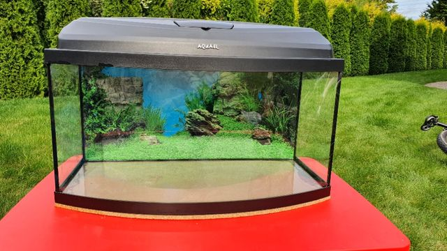 Akwarium z osprzętem Aquael Eheim
