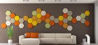 Miękkie Panele 3D Panele Akustyczne Panele Piankowe Panele 3D Heksagon
