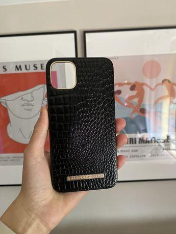 etui ideal of sweden skorzane czarne iphone 11 pro max czarne