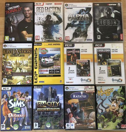 Jogos para PC antigos (CD e/ou DVD)
