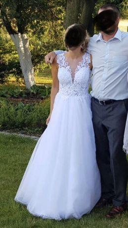 Piękna suknia ślubna CLASSA