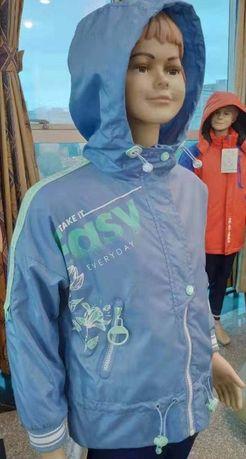 Новые! Куртка - ветровка Pelican для девочек от 2 до 8 лет