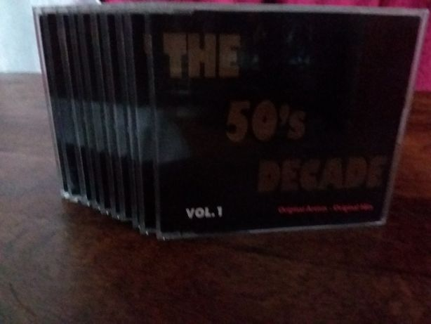 Cd The 50's Decade 10cds
