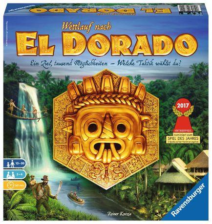 The Quest for El Dorado - gra planszowa (nowa)(folia) wyprawa do