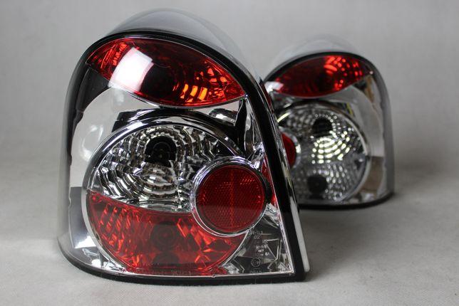 Lampy światła tył tylne RENAULT TWINGO 93-07 CHROM Tuning NOWE!
