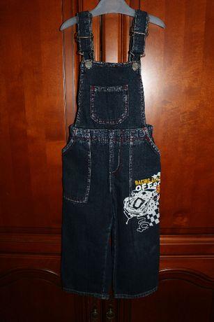 Комбинезон джинсовый Глория Джинс размер 1-2 года рост 92см