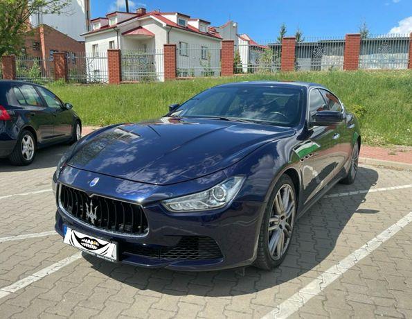 Maserati Ghibli SQ4 410KM /full opcja/rude skóry/4x4/zamiana