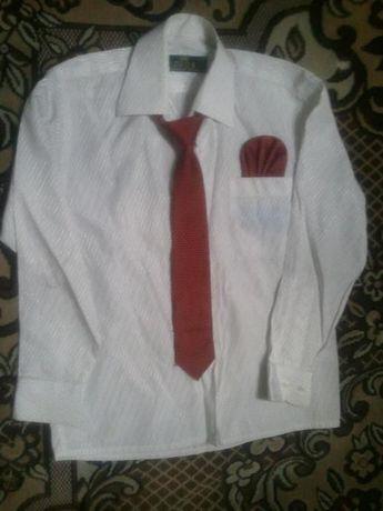 Рубашка на мальчика в школу 2-3 кл.