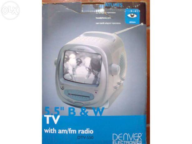 Tv dtv-550 com rádio