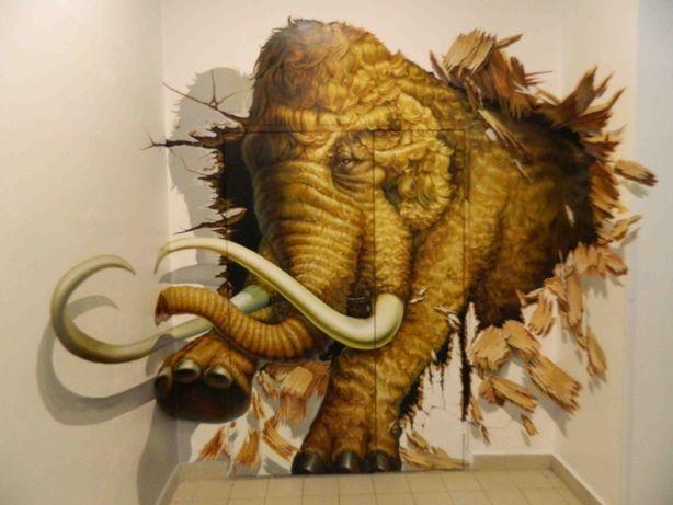 Роспись стен Покраска стен и фасада