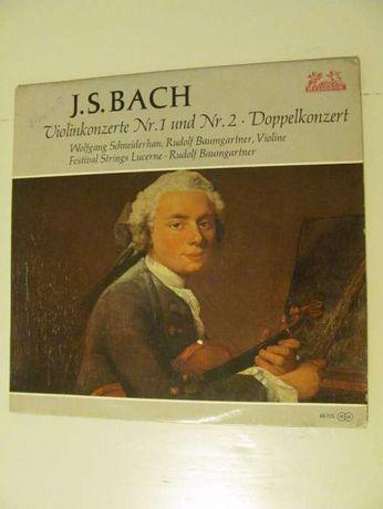 LP Vinil Bach Concerto Violino e Orquestra n.1 e n.2