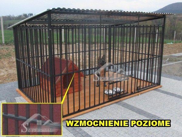 Promocja WZMOCNIONY kojec dla psa, kojce, boksy, PRODUCENT, dowóz
